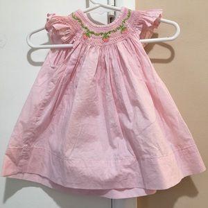 Remember Nguyen newborn smocked dress